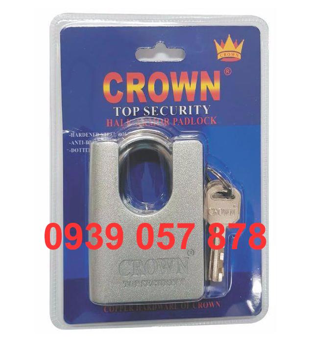Khóa Crown 7P C/C Bạc