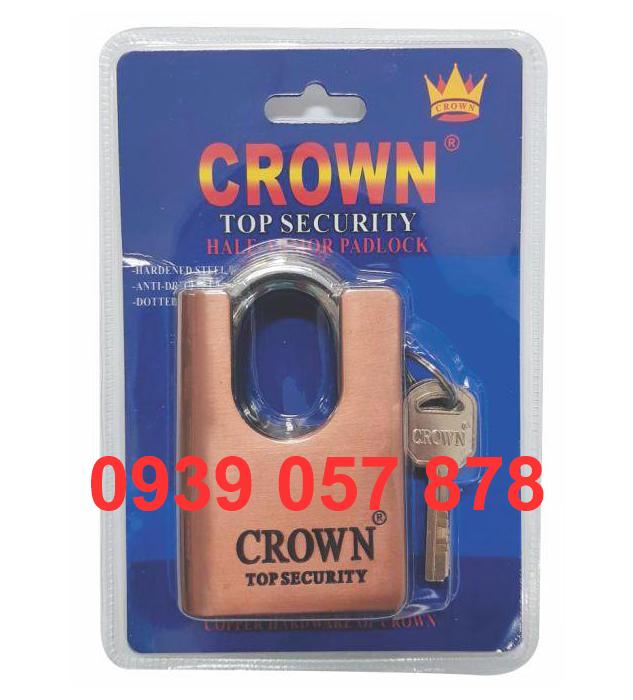 Khóa Crown 7P C/C Nâu