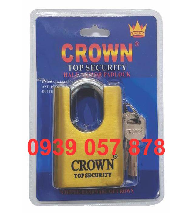 Khóa Crown 7P C/C Rêu