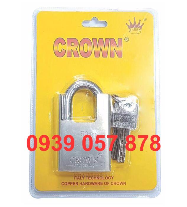 Khóa Móc Crown 5P C/C