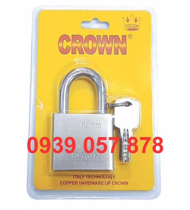 Khóa Móc Crown 6P