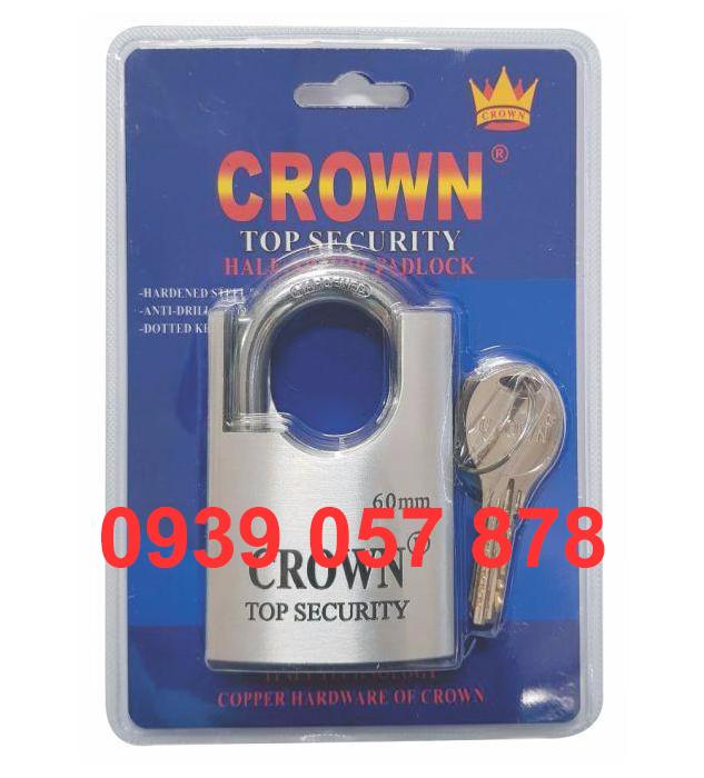 Khóa Crown 6P C/C Nhôm Máy Bay
