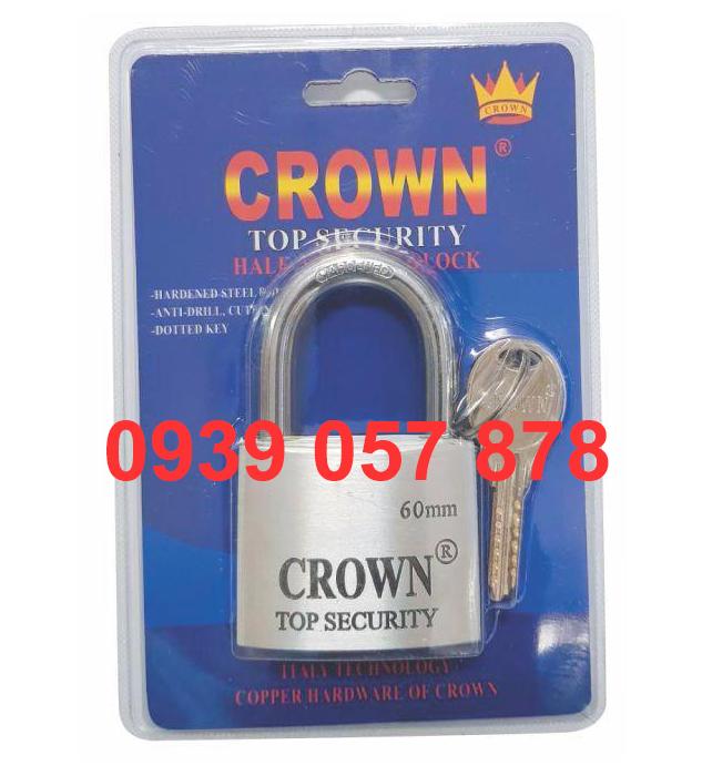 Khóa Crown 6P Nhôm Máy Bay