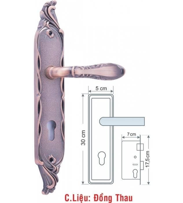 Khóa của chính NoVoSom CXL505005AC