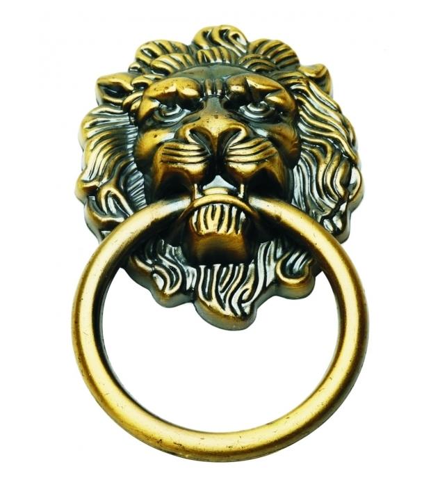 Tay nắm cổng sư tử